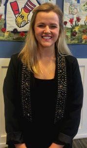 Volunteer Coordinator Alice Taylor