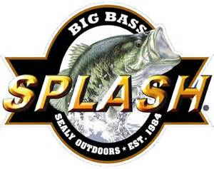 Sealy Outdoors- Big Bass Splash Logo