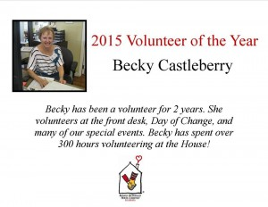 Thank you Becky Castleberry!