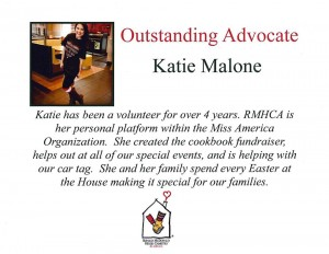 Thank you Katie Malone!