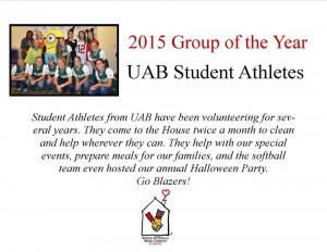 Thank you UAB Student Athletes!