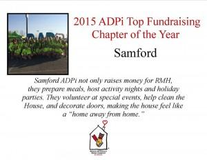 Thank you Samford ADPi!