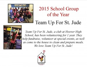 Thank you Team Up for St. Jude!