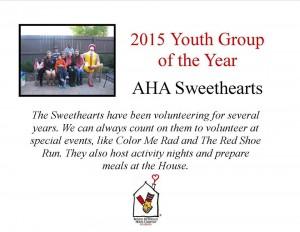 Thank you AHA Sweethearts!