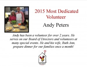 Thank you Andy Peters!