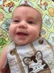 Brody smiles big