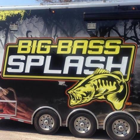 Trailer with Big Bass Splash logo