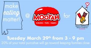 make EATING matter! MooYah - FB Post