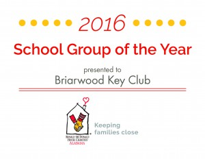 School Group of the Year 2016