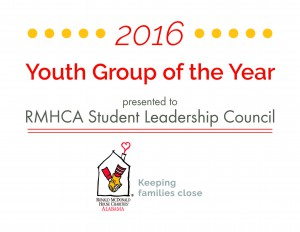 Youth Group of the Year 2016