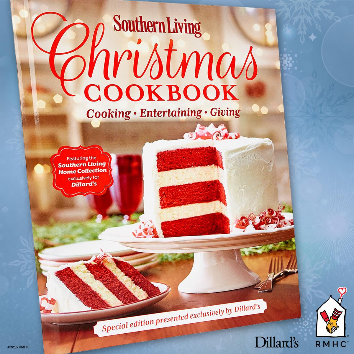 Southern Living 2021 Southern Living® Christmas Cookbook Dillard S Southern Living Cookbook Ronald Mcdonald House Charities Of Alabama
