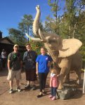 Nicholas and his family enjoy a trip to the zoo