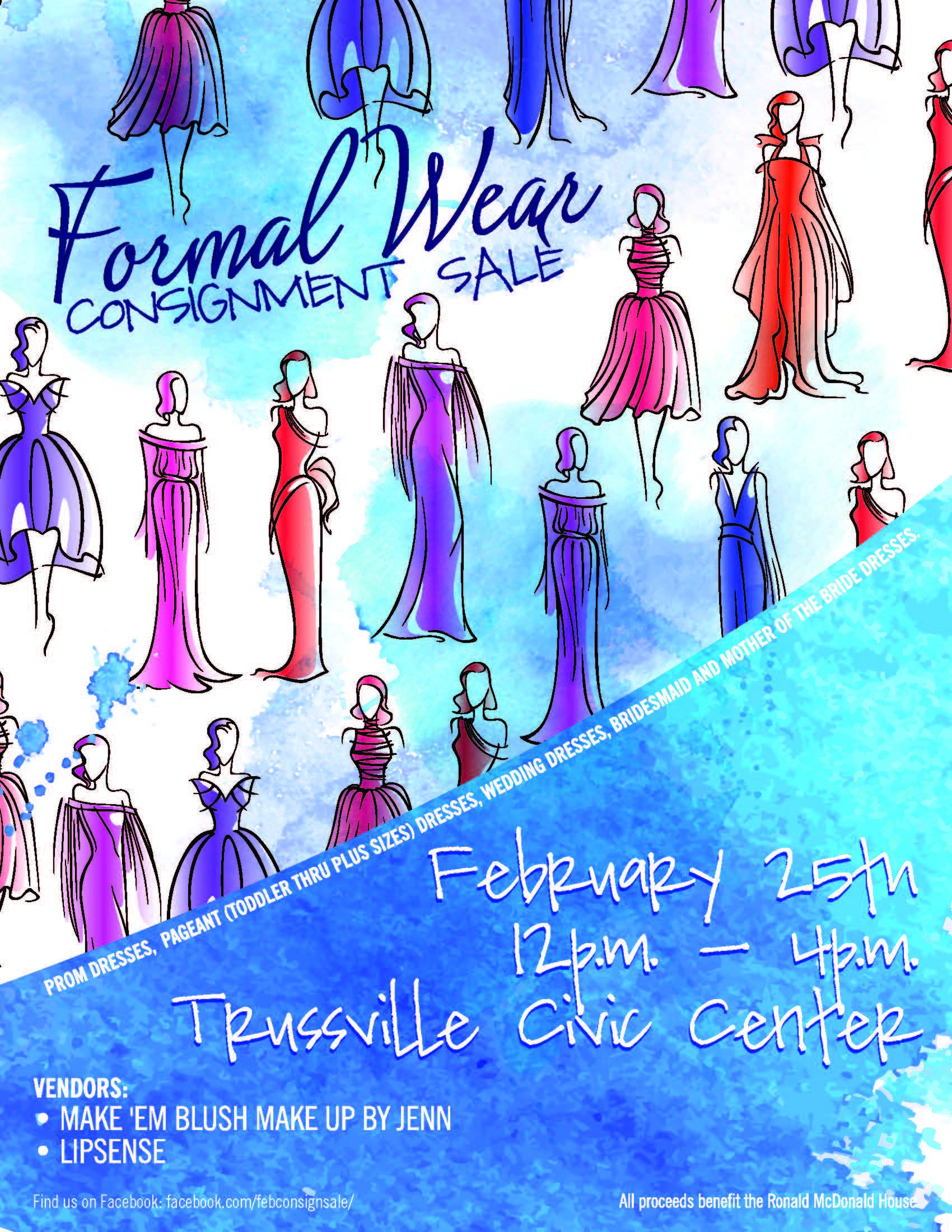 Prom dress sale fundraiser - Fashion dresses