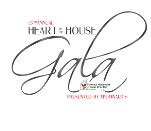 15th Annual Heart of the House Gala logo