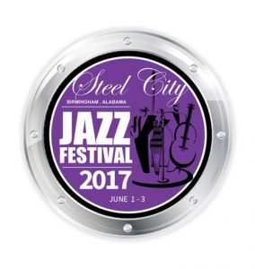 Logo for the 2017 Steel City Jazz Festival