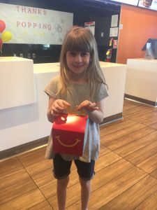 Alumni Family supporting RMHCA with Happy Meal