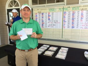 Will Kelley wins the Longest Drive Award Ridge Course