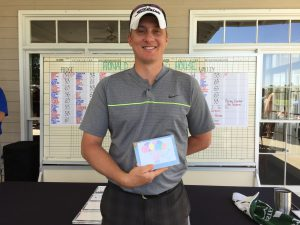 Jimmy Cromwell wins Closest to the Pin Front 9 Ridge Course
