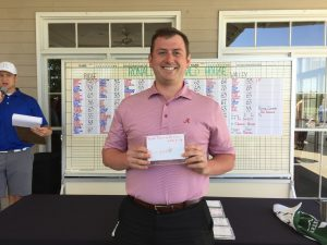 Phil Lambert wins Closest to the Pin Front 9 Valley Course
