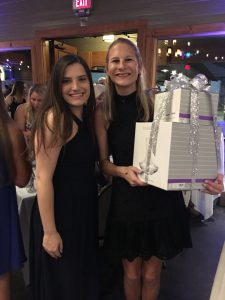Abbey Lauterbach (right) at Gala for Giving