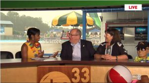 Promoting Alabama Splash Adventure coupon on Talk of Alabama