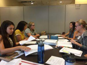 2017-2018 Student Leadership Council hard at work at the Ronald McDonald House Charities of Alabama