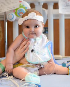 Breyleigh receives her new and perfect heart