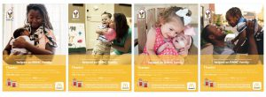 Examples of the McDonald's National Fundraiser for RMHC tear pads
