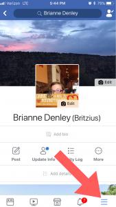 Facebook Fundraiser Step 1