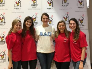 The ADPi sisters raised more than $40,000 for RMHCA.