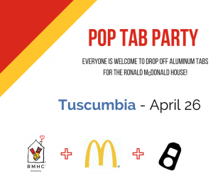 Pop Tab Party Tuscumbia