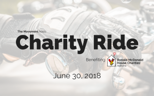 The Movement's Charity Ride poster