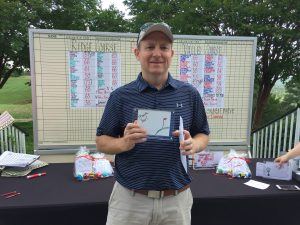 Will Kelly won Closest to the Pin on the Back 9 of the Ridge Course.