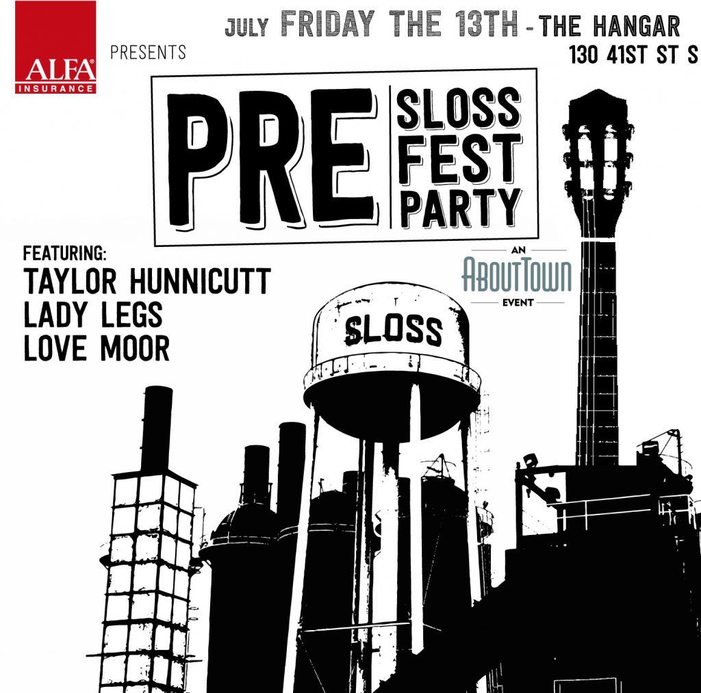 Pre Sloss Fest Party sponsored by ALFA