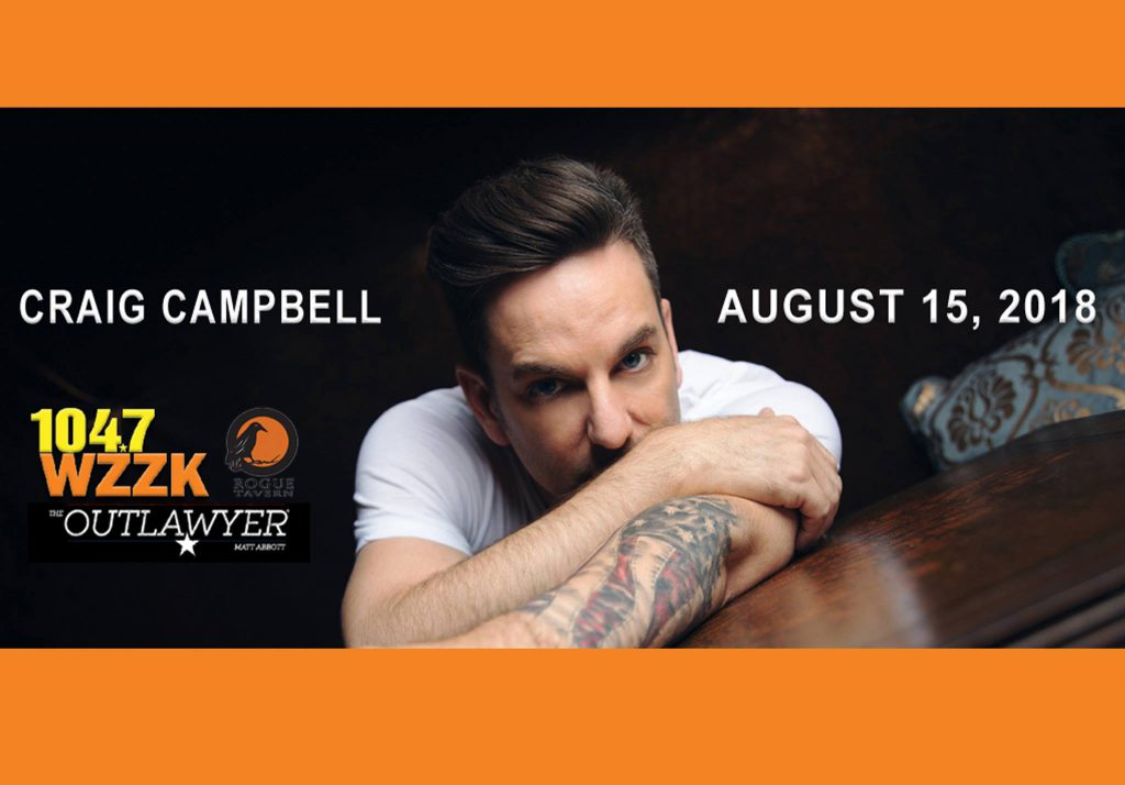 August 15 Downtown After Sundown with Craig Campbell