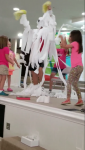 Mt. Zion Baptist Church Vacation Bible School kids toilet paper their youth minister after winning a contest to raise the most money for RMHCA