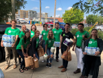 Shipt team members deliver groceries on Sept. 6, 2018.