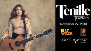Downtown After Sundown November 27 with Tenille Townes