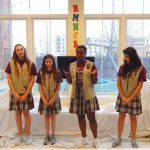 Prince of Peace Girl Scouts indoor playroom reveal