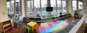 A look at the refreshed indoor playroom