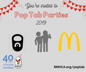 Pop Tab Party 2019 flyer