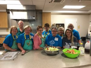 Helena United Methodist Church Dinner serves dinner