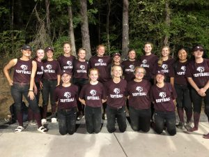 Southeastern School Softball Team at the Cora Blake Chapman Invitational