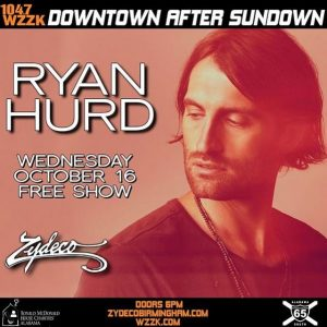 Downtown After Sundown with Ryan Hurd