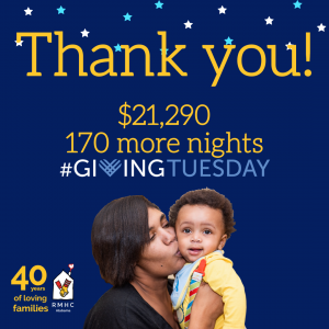 Thank you GivingTuesday