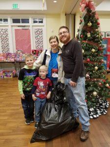 The Parks family visits Ronald's Workshop