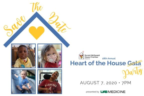 Save the Date Heart of the House Party