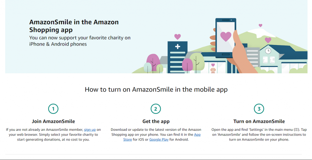How to join Amazon Smile