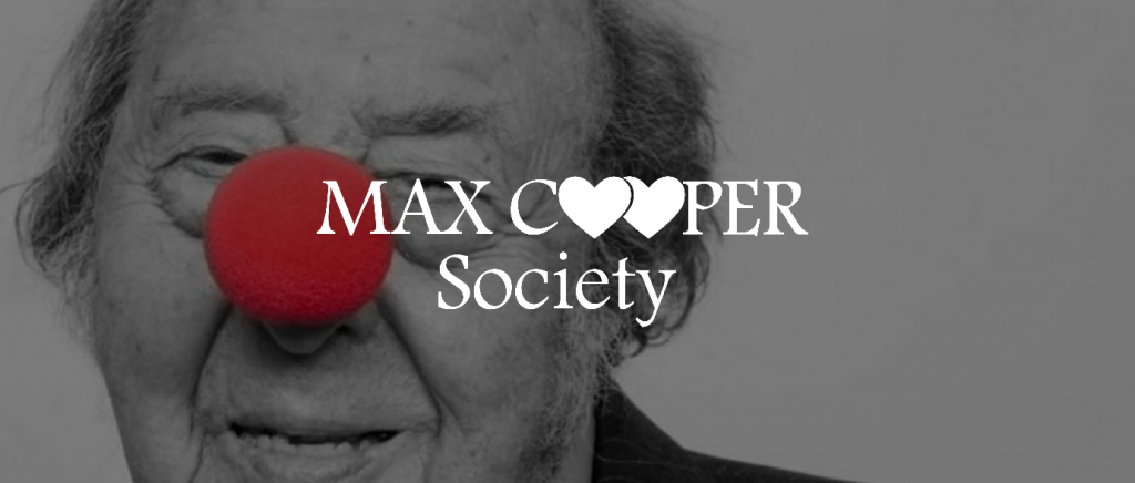 Max Cooper Society banner image