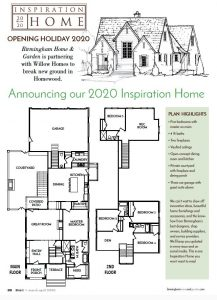 Floor Plan for the inspiration home